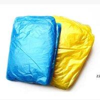 일회용 우비 일회용 비옷 비상 비옷 비옷 비옷 코브 성인 방수 캠핑 비 코트 색상 HWD7319