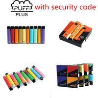 Sigarette E-sigarette monouso Puffbar BUFFAR BAR PLUS 800+ cartuccia POD 550mAh multipli 80 colori batteria 3.2ml pre-riempiti baccelli vape bastone vaporizzatore portatile Vs Bang XXL