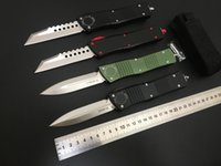 COMBAT TROO-DON D E automatic knife Hellhound double action M390 Blade 6061-T6 aluminum handle Tactical gaer Outdoor Defense tools Pocket Auto