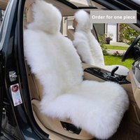 Carpets Car Seat Cover Winter Plush Fur Protector Auto Covers Keep Warm In Fits Most
