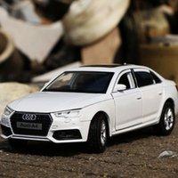 132 Audi A4 Auto Auto Modello Diecasts Giocattolo Veicolo Metallo Car Modello Simulazione Collezione Sound and Light Kids Regalo GRATUITO
