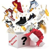 Lucky Mystery Box 100% Surprise di alta qualità Kanye Pallacanestro Scarpe da basket 1s 4s 13s Dunk Running TN Plus 270 97 90 TRIPLE S NOVIGLIA REGALI DI NATALE PIÙ POFRESHIPPING