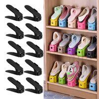 Clothing & Wardrobe Storage 10 Pcs Adjustable Shoe Organizer Holder Double Rack Shoes Organizers Stand Shelf Keeper Wholesale