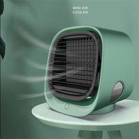 2021 мини портативный кондиционер вентиляторы многофункциональный увлажнитель очиститель USB настольный кулер настольный с водяным баком Home 5V вентилятор