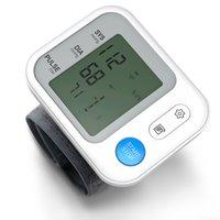 Bgmmed Medical Perruette numérique Structure artérielle Moniteurblood Tonomètre Automatique Sphygmomanomètre Tensiomètre Tensiomètre