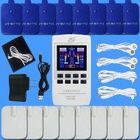 Ev elektrikli masaj enstrümanı, boyun, omuz, bel, düşük frekanslı dijital meridyen fizyoterapi enstrüman