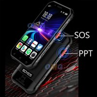 Small mini shockproof mobile phone NFC SOS Walkie talkie 3GB+64GB 4G Rugged smartphone android fingerprint Face ID cellphone PTT FM BT Wifi