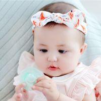 Hair Accessories 3pcs set Baby Headband Dot Print Cotton Ear Turban Bow Elastic Hairband Girls Cute Christmas Gifts