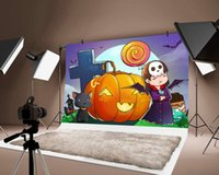 Сторона украшения тыква фонарик тонкий фон детские дети дети счастливые хэллоуин фестиваль декор фона украшения
