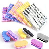 Mini Nail Files Colorful Sponge Nails Fichier Lixa de ANH LA LIMA BASSE BLOC DE PEDICURE ET TOOLSE DE MANUICURE