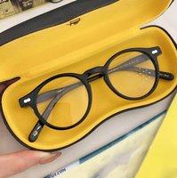 York 1915 Eyewear Miltzen HQ Round Frames Logotipo original Personalizar em Prescription Miopia Hyperópico Progressive óculos Progressivos Moda óculos de sol