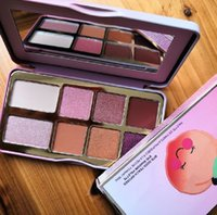 Stock Zickelte Pfirsich Mini Lidschatten Make-up-Palette Feiertag Chirstmas 8farbige Eyeshadow-Palette