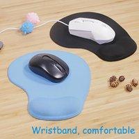 Freies Schiff Carprie Mauspad mit Handgelenkstütze Ergonomisch 3D Mousepad Anime Solide Farbe Alfombrilla de Ratón Oficina Mäuse