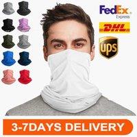Sommer Milchseide Schnelltuch Handtuch Außenzyklus Anti-Sun Sai Atmungsaktiv Mask Cap Magic Scarf Anpassung