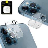 Protection de la caméra Protecteur d'écran de couverture en verre pour iPhone 11 11Pro MAX 12 12 PRO Max avec emballage au détail