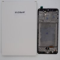 Pantalla LCD para Samsung Galaxy A31 A315 Pantalla OLED Paneles táctiles Reemplazo del montaje digitalizador con marco