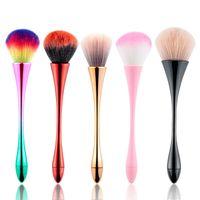 Spazzole per unghie di modo multifunzione per il salone di bellezza Unghie personali per le unghie per la pulizia spazzola morbida capelli colorati capelli colorati