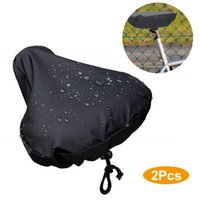 Bike Saddles 2021 Waterproof Bicycle Protective Coverings Seat Pack Front Tube Bag Saddle Pannier Rear Rain Cover Useful