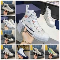 2022 New Men brand Designer shoes B23 Sneakers Oblique Mens Sneaker Technical Canvas Leather Women Casual Shoe top Quality with box Luxurys Trainers size 35-46