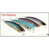 Baits Lures Sports Outdoors Drop Delivery 2021 28G 14Cm Minnow Artificial Hard Plastic Lure Casting Bait Fishing Tackle China Hook Suspend Ty