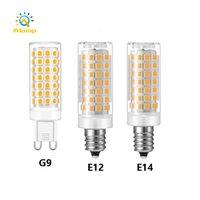 G9 / E12 / E14 / E17 / B15 LED 전구 AC 110V 220V SMD2835 슈퍼 밝은 옥수수 램프 스포트 라이트 샹들리에 전구 따뜻한 흰색 / 차가운 흰색