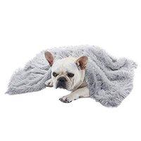 케네 레스 펜 개 고양이 단단한 쉽게 쉽게 깨끗한 부드러운 봉제 침대 소파 겨울 따뜻한 실내 애완 동물 담요 가구 보호 휴대용 홈