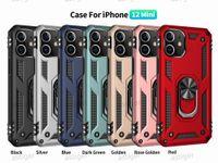 Hybrid Armor Phone Back Cover Cases For iPhone 12 Pro 11 SE LG Stylo 6 K51 MOTO G8 Play G Stylus Car Metal Finger Ring Bracket kickstand Case