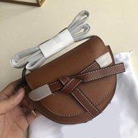 Designer luxury handbag purse genuine leather Loevy crossbody puzzel women shoulder designer purse fashion totes women bag Semicircular bag