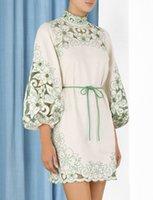 Высокий конец нового стиля элегантное пузырьское платье рукава