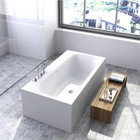 Высококачественные ванны современные охраны окружающей среды акриловые, ванна, классический овальный, европейский ретро интегрированы матовой или легкой