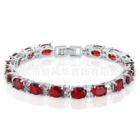 Xinfenghua h ornament plated with simple fashionable Japanese and Korean palace style women's round Zircon Bracelet