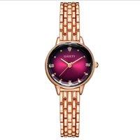 Armbanduhren Explosionsmodelle Frauen Luxus Quarzuhr Uhren Damen Mode Trend Legierung Frau