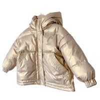 Children Down Coat Kids Winter Outwear Girls Clothes Boys Clothing Washing-free Childrens Long Loose Jacket Warm Coats B8408