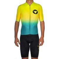 Yarış setleri kara koyun bisiklet forması maillot ropa ciclismo hombre 2021 erkek yaz kısa kollu ve önlük şort takım mtb yol takımı