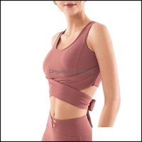 Gym Exercise Wear Athletic Outdoor Apparel & Outdoorsgym Clothing Women Medium Support Workout Sports Bra Racerback Back Energy Activewear Q