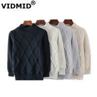 VIDMID children's Clothing baby boys cotton Warm Pullovers sweaters kids boys Winter Autumn Knitted sweaters boy jackets 7088 04 201202