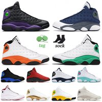 Topkwaliteit 2021 Basketbalschoenen 13 13S XIII Mens Dames Air Jordans Court Purple Lucky Green Flint Starfish Hyper Royal Jorden Retro Trainers Sneakers 36-47