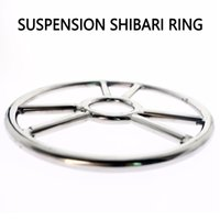 Japanese Stainless Steel Training Shibari Ring Suspension Bondage Gear Accessories Chastity Device BDSM Game Sex Toys 10 Y0406