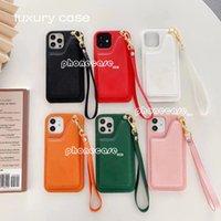 Custodia per telefoni cellulari per iPhone 12 Pro Max Casi di moda Portatile Portafoglio Pocket Card 11 PROMAX 7 8 PLUS X XS XR XSMax Carino Regali con scatola