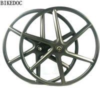 Roues à vélos BikeDoc chinois WheelSet de carbone chinois MTB Wheel 6 a parlé 1.0 et 2.0 montagne