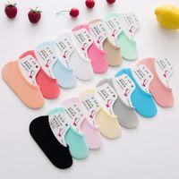 SocksSummer super thin candy velvet invisible silk Silicone women's magic socks