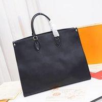 M44925 M45595 ONTHEGO handbags women luxury shoulder bag leathers embossed designer handbag fashion crossbody bags classic woman totes M45320 M45321