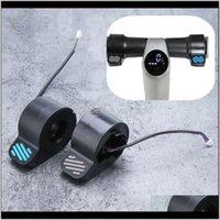 부품 액세서리 전기 스쿠터 파트 손가락 버튼 NineBot ES1ES2ES3ES4IDEAL 교체 용 스로틀 브레이크 세트 쉬운 설치 P Q0X23