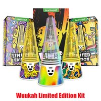 Authentic Leaf Buddi Wuukah Limited Edition Kit Dab Rig Wax Concentrate Vaporizer Temperature Control 3200mAh Battery Device Water Vape Glass Enail Genuine