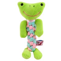 Dog Toys & Chews Mixed designs Bite Resistant Pet Chew for Small Cleaning Teeth Puppy Dog Rope Knot Ball Toy Playing Animals Dogs Toys Pets JC1U
