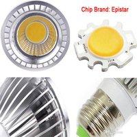 PAR20 COB Bulbe Dimmable Spotlight GU10 E27 Haute puissance LED Lumière Downlight Downlight LED Ampoule Blanc / Chaud Blanc / Colle Blanc Spot Lumière