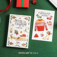 Bookmark 30pcs lot Wish List Series Postcard Greeting Card Letter Paper Memo School Office Supplies