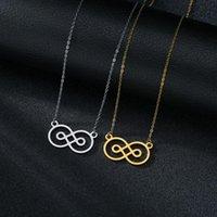 Pendant Necklaces 2021 Baroque Women's Golden Retro Constellation Clavicle Chain Simple Titanium Steel Necklace