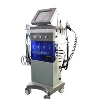 9 in 1 Spa Facial Beauty Machine Hydradermabrasion Oxygen Jet Rf Bio Lifting Ultrasound Pdt Skin Scrubber Peel Face Lifting