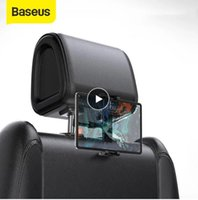 Baseus Araba Arka Koltuk Kafalık Dağı Tutucu iPad 4.7-12.9 inç 360 Rotasyon Evrensel Tablet PC Oto Telefon Standı
